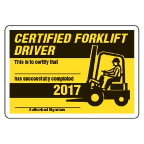 forklift certification card template 28 forklift licence template collegesinpa org