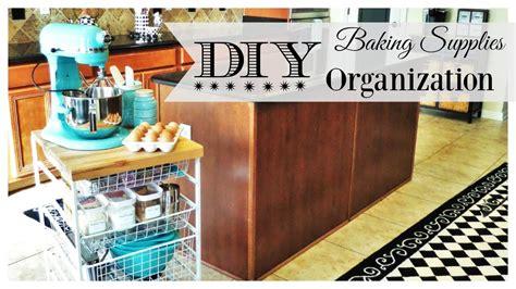 15 diy kitchen ideas for organized culinary creations diy baking supplies organization tips youtube