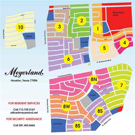 lovett texas map meyerland houston