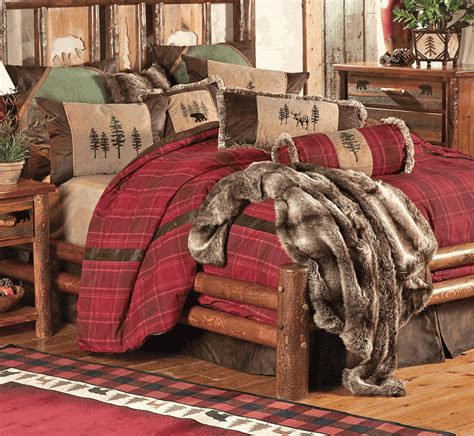 Cabin Bedding Sets by Rustic Bedding Highlands Cabin Bedding Collection Black Forest Decor