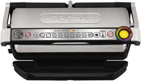 T Fal OptiGrill XL Stainless Electric Grill   GC722D53