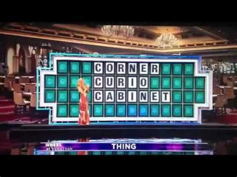 corner curio cabinet wheel of fortune wheel of fortune 1 million dollar loss corner curio