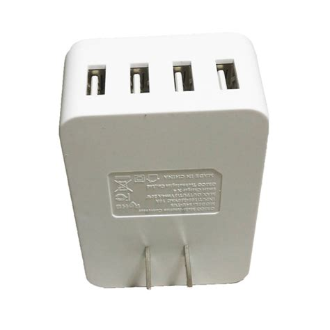 Charger Orico 20w Travel Power With 4 Usb Charging Ports Original orico s4u tus 20w 4a travel charger adapter 1 universal outlet and 4 usb port asianic