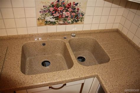 kitchen sink built into countertop need advise for the countertop and sink