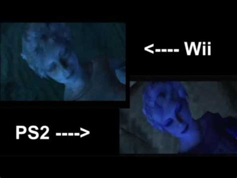 wii vs ps2 which has silent hill shattered memories wii ps2 comparison graphics