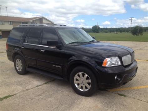 how to sell used cars 2004 lincoln navigator lane departure warning purchase used 2004 lincoln navigator black luxury car tan interior in united states for us