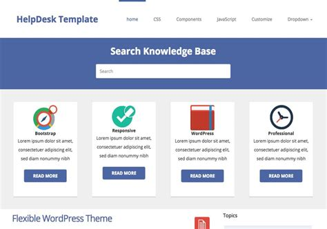 blog themes with ad space helpdesk theme responsive blogger template 2014 free download