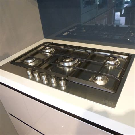 coperchio piano cottura franke 5 fuochi outlet cucine cucina demode valcucine in offerta