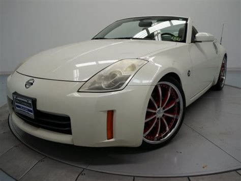 automotive repair manual 2006 nissan 350z roadster electronic throttle control buy used 2006 nissan 350z enthusiast white convertible v6 manual transmission in fort worth