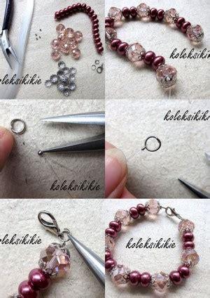 cara membuat gelang elastis membuat gelang manik manik sendiri koleksikikie