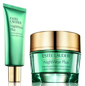 Estee Lauder Nightwear Plus Detox Creme by Est 233 E Lauder Nightwear Plus Detox Collection