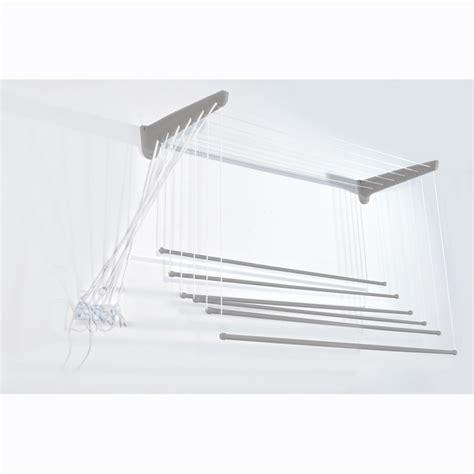 stenditoio soffitto stendino a parete o soffitto in acciaio inox 18 10