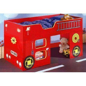 Childrens Duvet Tog Guide Fire Engine Bed