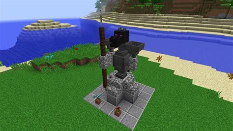 minecraft 1 8 mcstacker comment faire une statue minecraft youtube