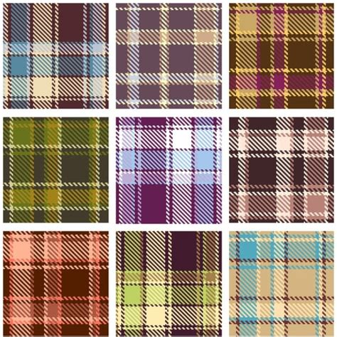 plaid pattern vector plaid patterns 02 vector free vector in encapsulated