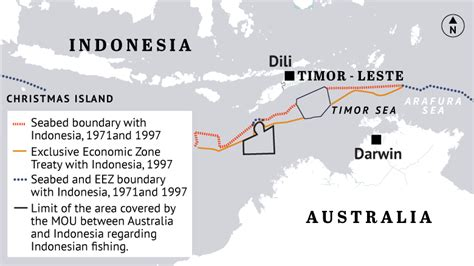 renegotiating  indonesia australia maritime boundary