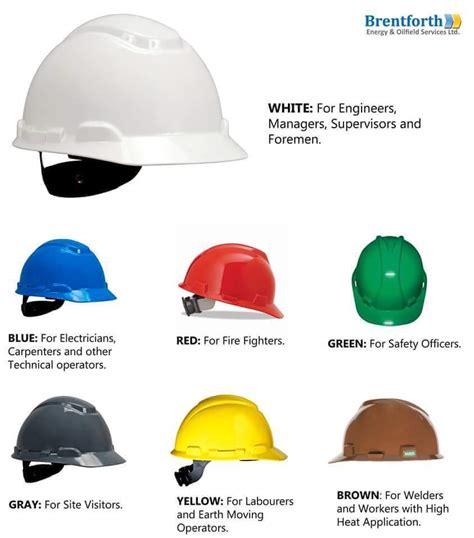 construction colors helmet colour code for construction electrical