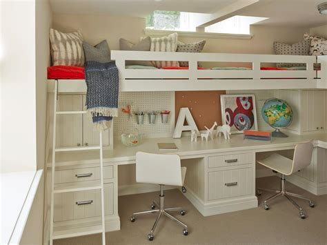 Bunk Bed With Office Underneath 8 Steps To A Paperless Home Office Hgtv