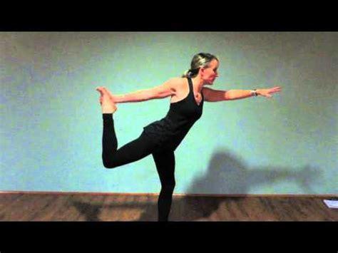 yoga tutorial for beginners youtube fall in love with yoga tutorial natarajasana king dancer