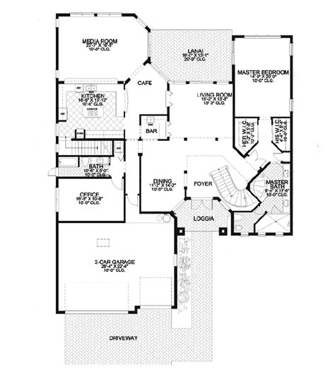 santa fe floor plans catalina canyon santa fe home plan 106s 0085 house plans