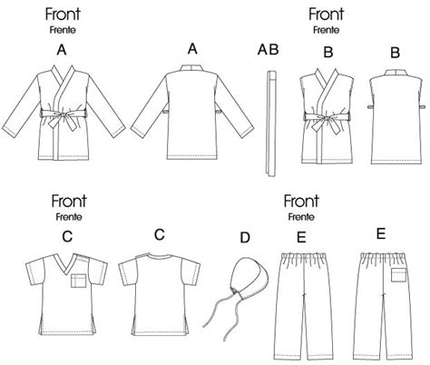 ninja gi pattern ninja or jedi costume sewing pattern padme fashion