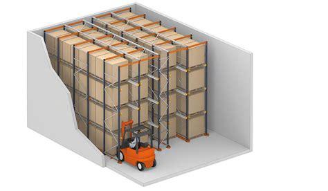 Drive Storage Rack by Drive In Drive Thru Pallet Racks Interlake Mecalux