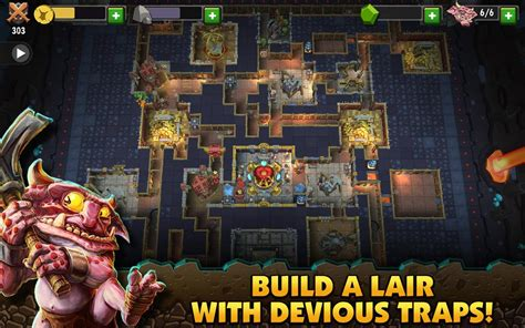 dungeon apk dungeon keeper apk v1 6 83 mod jevels for android apklevel
