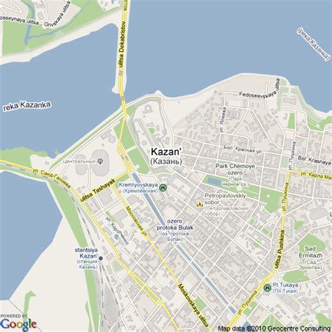 maps kazan russia map of kazan russia hotels accommodation