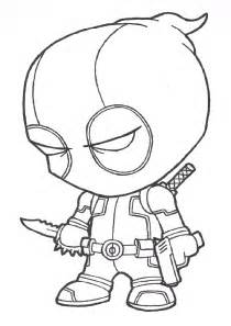 deadpool coloring free coloring pages of deadpool