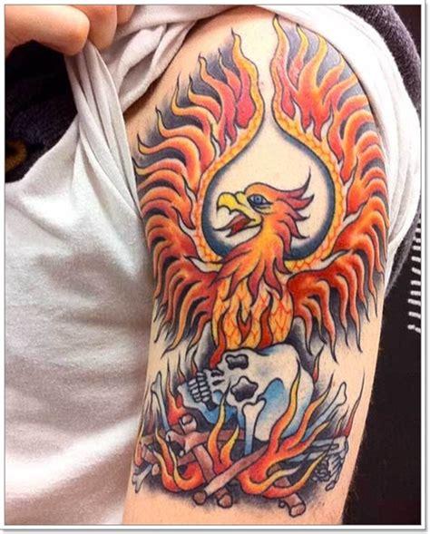 phoenix tattoo guys 40 phoenix tattoo designs for men
