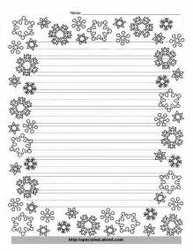 Writing papers christmas writing and snowflakes on pinterest