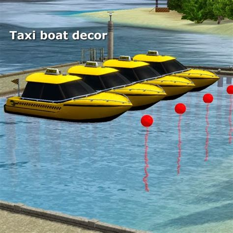 on taxi boat simming in magnificent style taxi boat decor