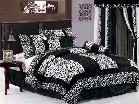 animal print bedroom decor zebra print bedspreads inexpensive way to redecorate any