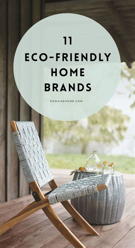 Eco Chic Planet Friendly Designs by 11 Eco Friendly D 233 Cor Brands That Are Actually Chic