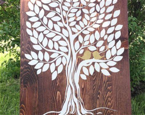 Wedding Guest Book Backdrop by Bird Guest Book Wood Wedding Guest Book Wedding Tree