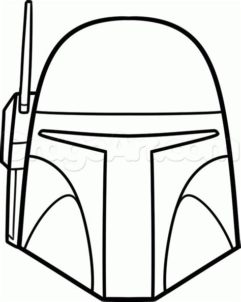 star wars coloring pages easy easy to draw star wars characters how to draw boba fett
