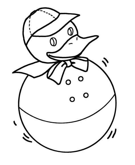 simple duck coloring page simple shapes coloring pages free printable duck toy