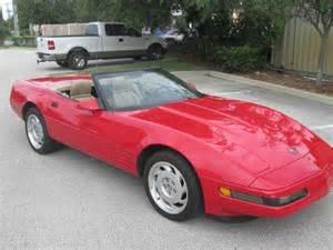 1992 Chevrolet Corvette For Sale Used 1992 Chevrolet Corvette For Sale Carsforsale