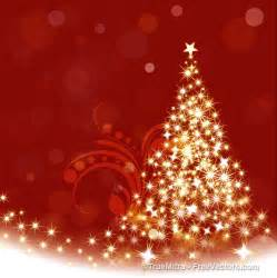 download free sparkle christmas tree vector illustration