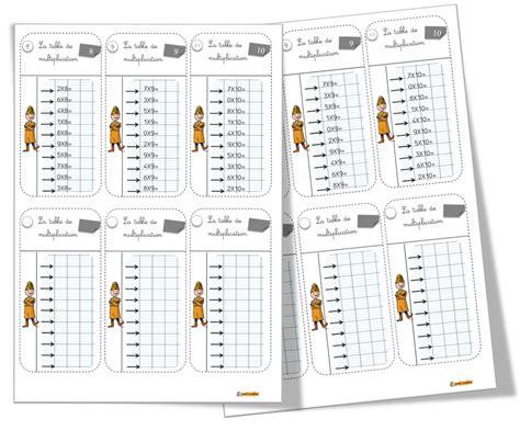 Multiplek Tebal 2 Cm table de multiplication ce2