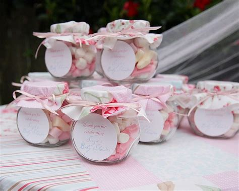 shabby chic lolly jar bonboniere favor le petit babies