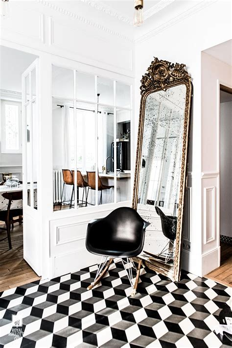 Decoration De Salle Noir Et Blanc by D 233 Coration Noir Blanc Or E Interiorconcept