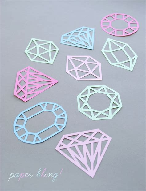 paper cutting templates paper cut gems minieco