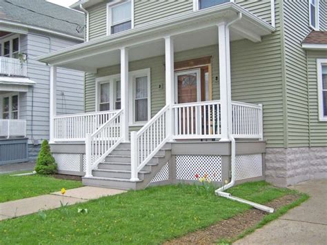 front porch railings ideas for small house simple and