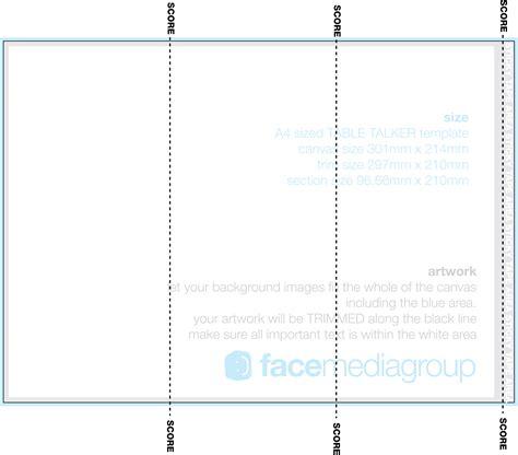 27 table tent templates free premium download