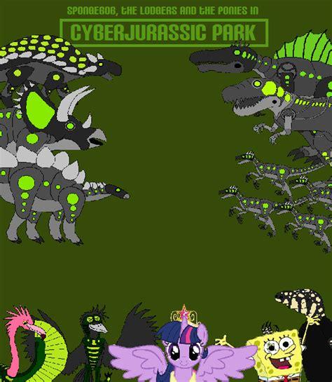 cyberjurassic park spongebob friends adventures wiki
