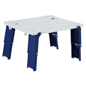 Compact Folding Table Buy Compact Folding Beach Table From Bed Bath Amp Beyond