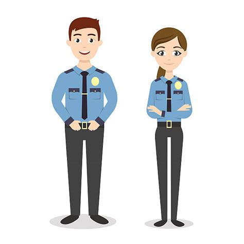 royalty free security guard clip vector images