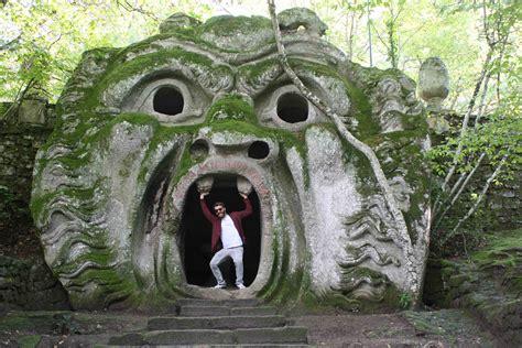 giardino di bomarzo mostri al parco sacro bosco di bomarzo