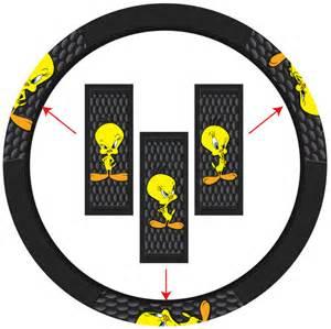 Steering Wheel Covers Or Bad Tweety Attitude 3 State Steering Wheel Cover Pla6454